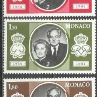 Монако 1981 свадьба королевская 5м.**