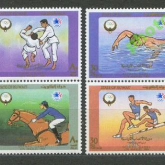 Кувейт 1984 олимпиада борьба 4м.**