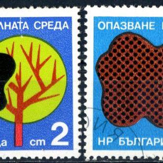 Болгария. Охрана природы (серия) 1976 г.