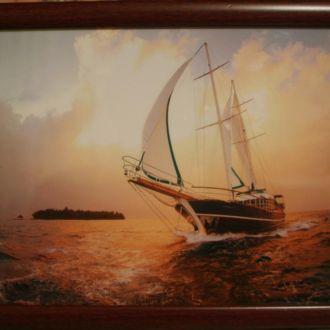 Фото картина Море  21*30  в рамке