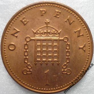 Великобритания 1 пенс 2004