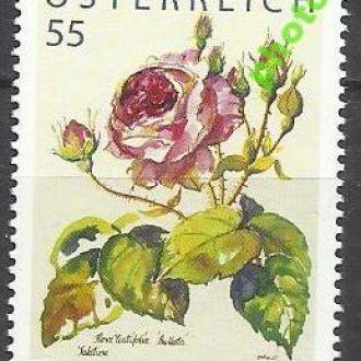 Австрия 2010 флора роза 1м.**