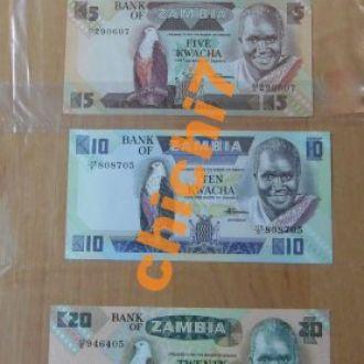 Набор Замбия