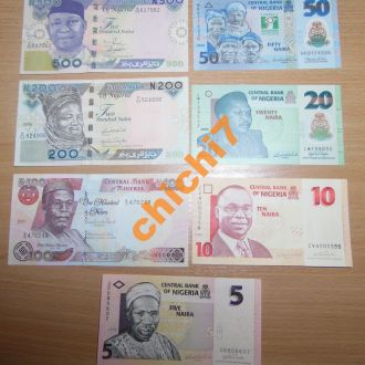 набор Нигерия/UNC
