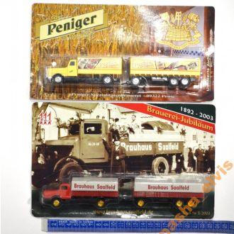 Ретро-грузовики Германии Horch, IFA, MAN, 1:87 /№9