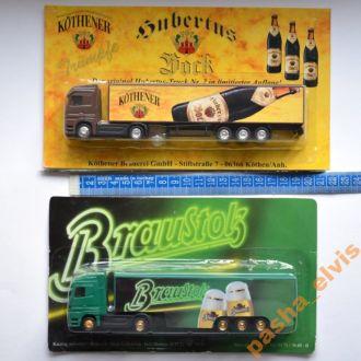 Модели грузовиков Mercedes, SCANIA, MAN, 1:87 / №5