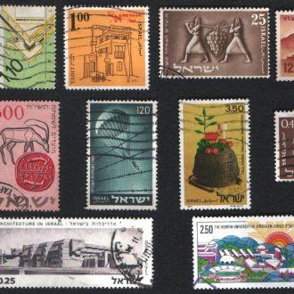 Израиль. Подборка старых марок