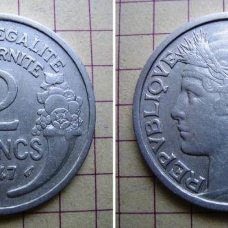 Франция (1947) 2 франка