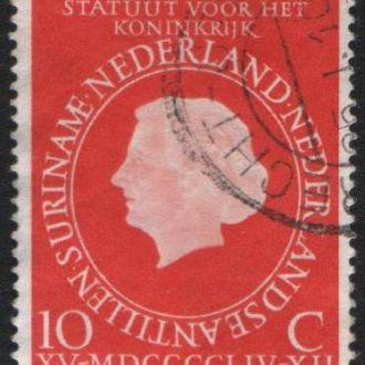 Нидерланды (1954) Королева. Новый статут