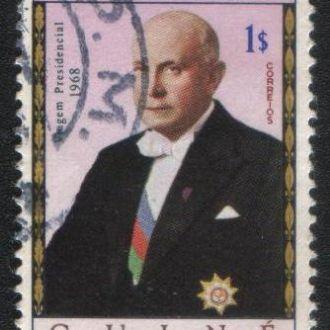 Гвинея (1968) Порт. колония. Президент Португалии