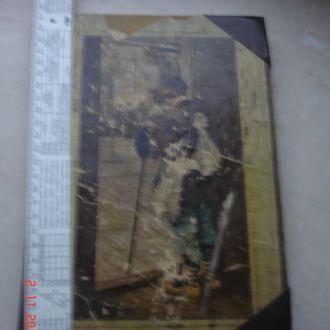 Книга детская христоматия с рисунками Лукашевич