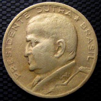 Бразилия 50 центавос 1956 год