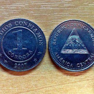 Никарагуа. 1 кордоба 2007 г.