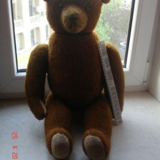 игрушка кукла медведь солома Мишка большой СССР