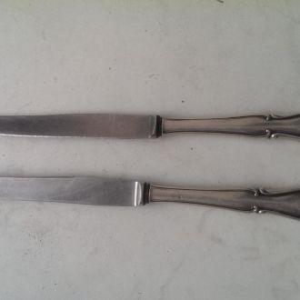 Нож столовое серебро 800 проба царизм десертный