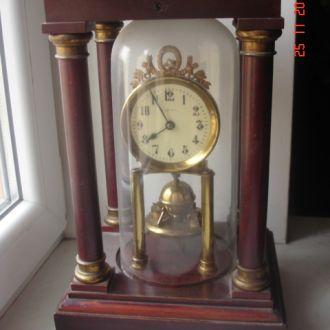 Часы годовой завод Густав Беккер 1880год