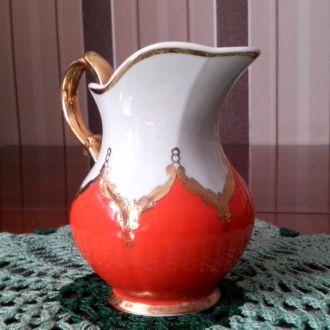 Молочник соусник с золотом из СССР