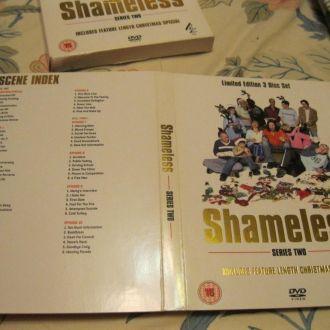 SHAMELESS фильм диск 3шт на английском.английский