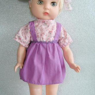 Платье кукольное, винтаж для куклы ростом 36-38 см