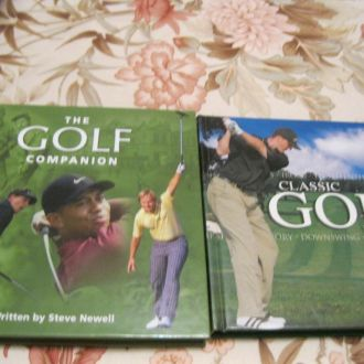 гольф книга на английском английский ЛОТ=2шт ШИК!!