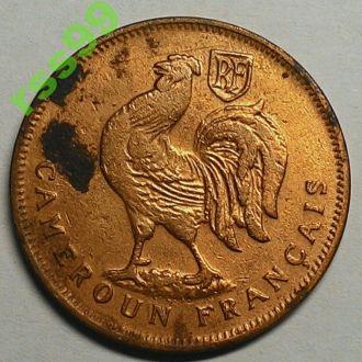 Камерун 1 франк 1943 год