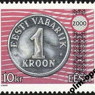 Estonia / Эстония - Монета 1м 2000 OLM-OPeN