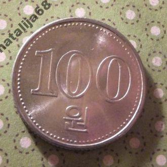 Северная Корея 2005 монета 100 !