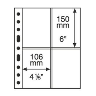 Лист-обложка GRANDE на 4 вертикальных строки 2ST