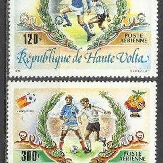 Верхняя Вольта 1983 футбол чемпионат мира 2м.**