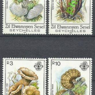 Внешние Сейшелы 1985 грибы 4м.**