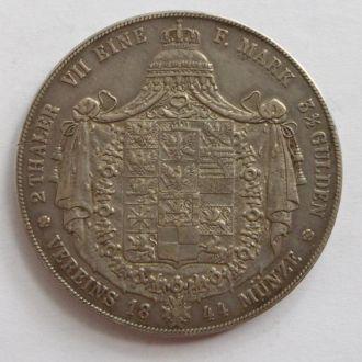 Германия Пруссия 2 талера 1844 г