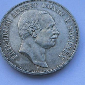Германия 5 марок 1914 г Саксония