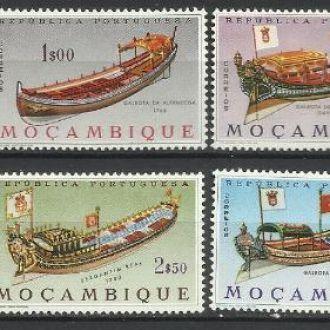 Мозамбик португ. 1964 транспорт корабли униформа 7