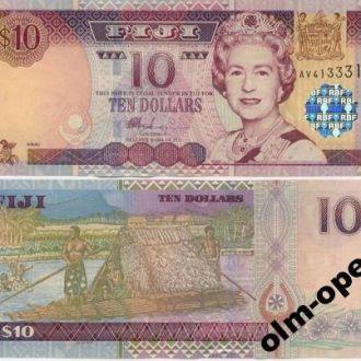 Fiji / Фиджи - 10 Dollars 2002 - UNC - OLM-OPeN