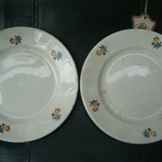 2 тарелки старые