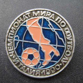 значок футбол ЧМ 1990 Италия №2
