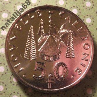 Новая Каледония 2009 год монета 50 франков !