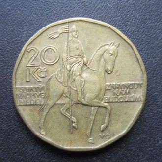 20 крон Чехия 2002