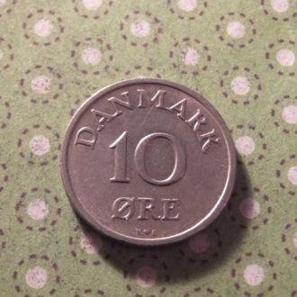 Дания 1948 год монета 10 эре !