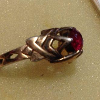 Кольцо серебро - 33