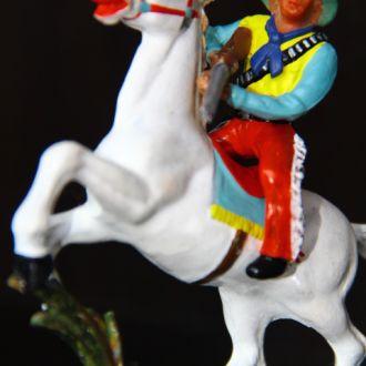 индейцы ковбои ГДР( №309+ конверсия) незаводская покраска