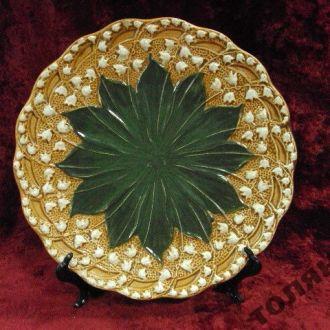 тарелка настенная ландыши зусман