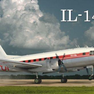 Amodel - 72304 - Ильюшин Ил-14М - 1:72