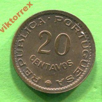Мозамбик 20 сентаво 1974 г