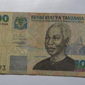 1000 шилингов Танзания