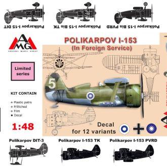 AMG Models - 48310 - И-153 (иностранные ВВС) -1:48