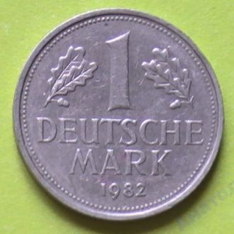 1 Марка 1982 г J Германия