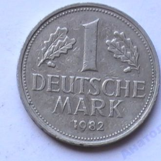 1 Марка 1982 г F Германия