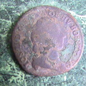 1 Крейцер 1791 г А  Австро-Венгрия