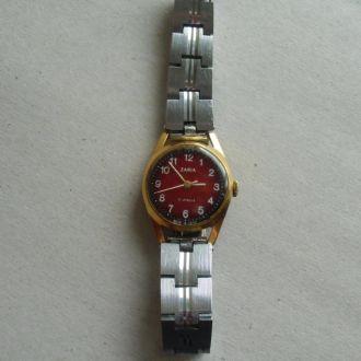 Часы Заря AU10 браслет СССР Позолота Рабочие